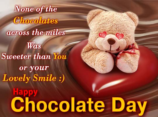 chocolate day cards free chocolate day ecards greeting