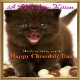 Home : Events : Chocolate Day 2020 [Dec 24] - A Chocolate Kitten.