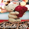 My Heart Is Yours On Chocolate Day.