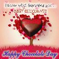 My Chocolate Day Love Ecard.