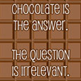 Home : Events : Chocolate Day 2020 [Dec 24] - Chocolate Is The Answer...