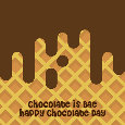Chocolate Is Bae,Happy Chocolate Day.