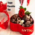 Chocolate Card For You.