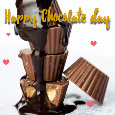 Happy Chocolate Day Melting...