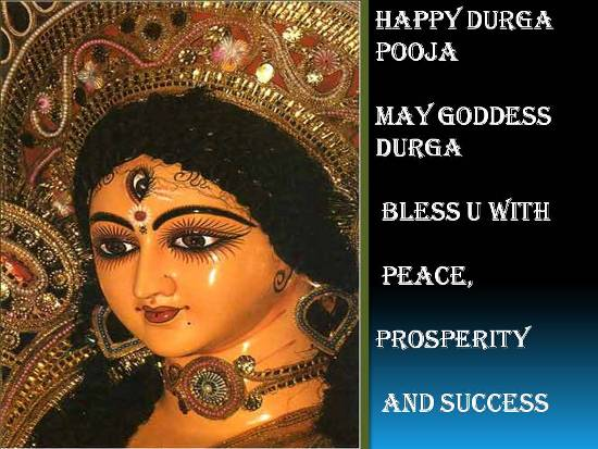 Wishes And Blessings For Durga Pooja.