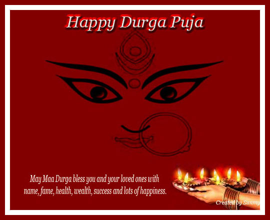 Heartiest & Loving Wish On Durga Puja.