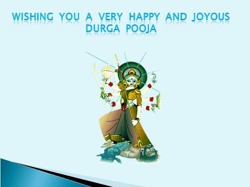 Durga Puja Greetings For Loved Ones.