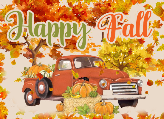 Happy Fall My Friend Free Friends Amp Family Ecards
