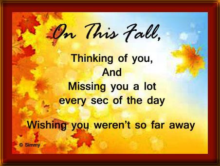 Wishing You Weren't So Far...