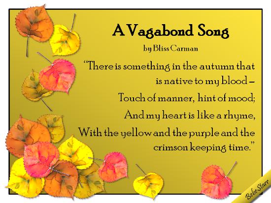 A Vagabond Song.