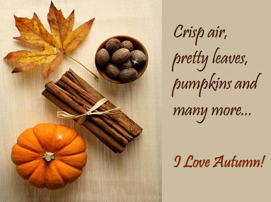 Send Magic of Autumn Ecard