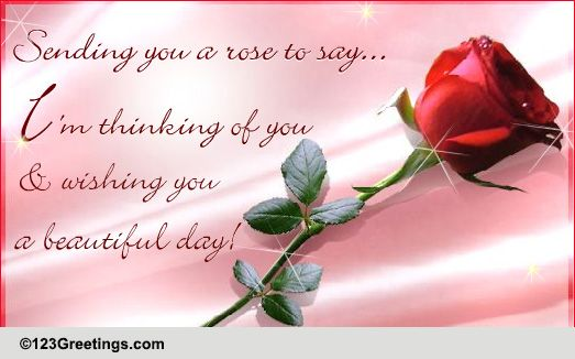 Thinking Of You... Free Festival of Roses (CA) eCards ...