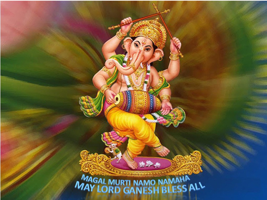 Mangal Murti Ganesha.
