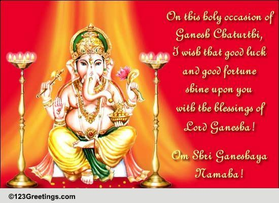 ganesh chaturthi greetings - photo #9