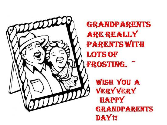 Wish Happiness 2 Ur Dear Grandparents.