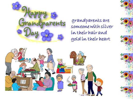 Greet Your Beloved Grandparents.