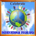 International Peace Day Ecard.