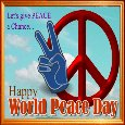 Home : Events : International Peace Day 2019 [Sep 21] - Give Peace A Chance...