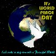 Home : Events : International Peace Day 2020 [Sep 21] - Let's Take A Step Towards Peace.