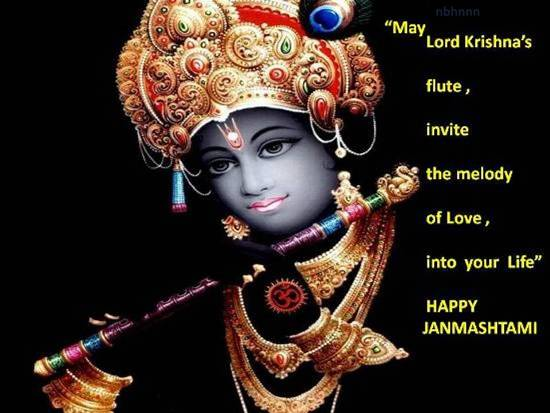 Greetings On Janmashtami.