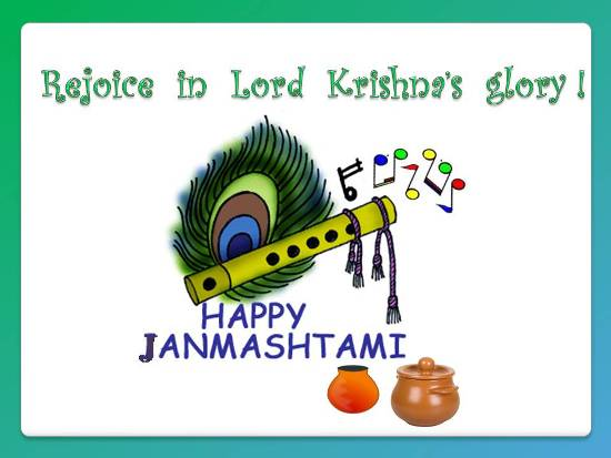 Wish Your Dear Ones On Janmashtami.