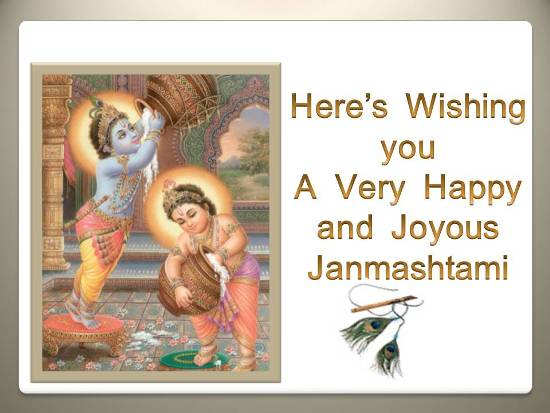 Greet Ur Loved Ones This Janmashtami.