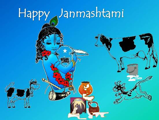 Greet Your Dear Ones On Janmashtami.