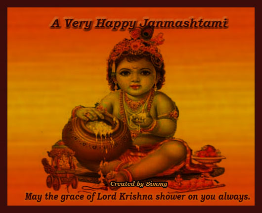Happy Janmashtami Wish For All.
