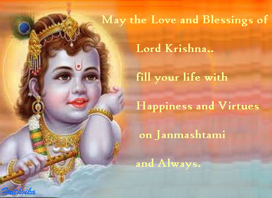 Love And Blessings Of Lord Krishna..