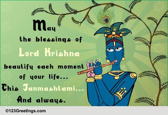 Send Janamashtami Greetings!