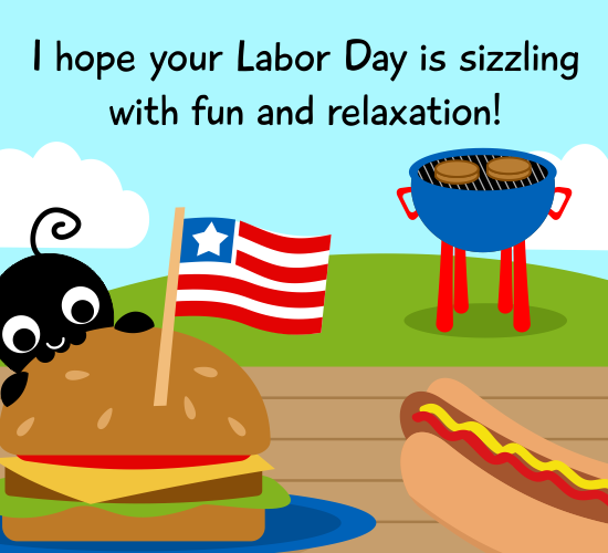 Sizzling Labor Day...