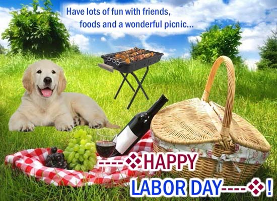 Friends food and lots of fun free happy labor day for Cuisine janod happy day