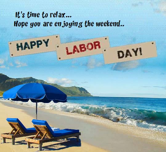 Send Labor Day Weekend Card!