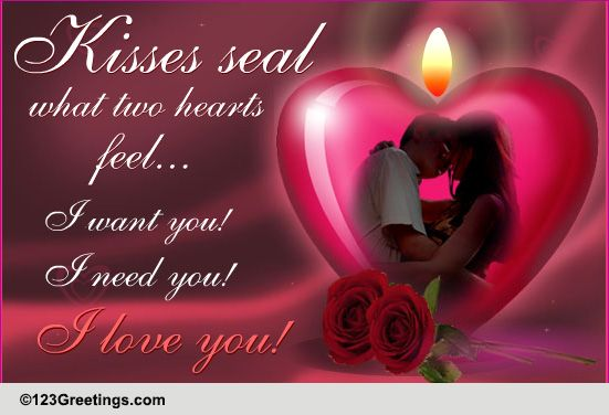 30 Happy Kiss Day Pictures Wallpapers For Lover Special: I Love You! Free Kiss Day ECards, Greeting Cards