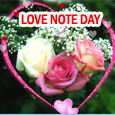Romantic Love Note For You!