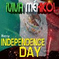 A Mexican Independence Day Ecard.