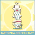 Home : Events : National Coffee Day 2019 [Sep 29] - Hope Your Day Stacks Up.