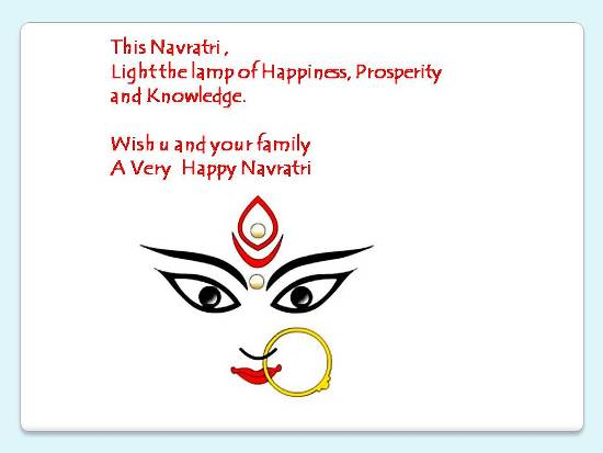 Wishes For A Happy Navratri.