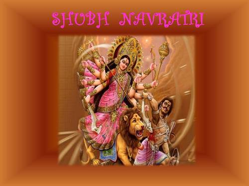 Blessings On Navratri.