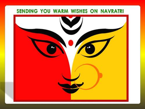 Greet Your Dear Ones On Navratri.