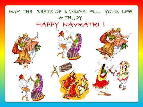 Wish dear ones on navratri free navratri ecards greeting cards wish dear ones on navratri m4hsunfo