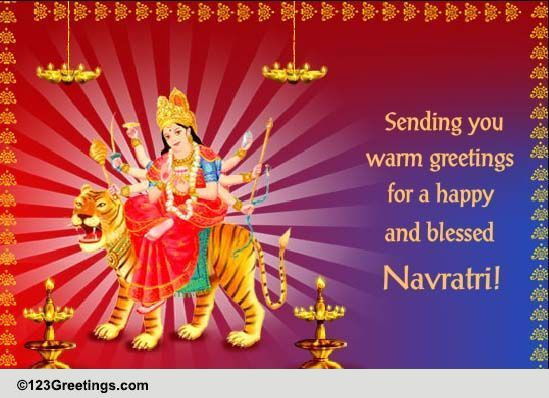 Formal navratri greetings free navratri ecards greeting cards formal navratri greetings free navratri ecards greeting cards 123 greetings m4hsunfo
