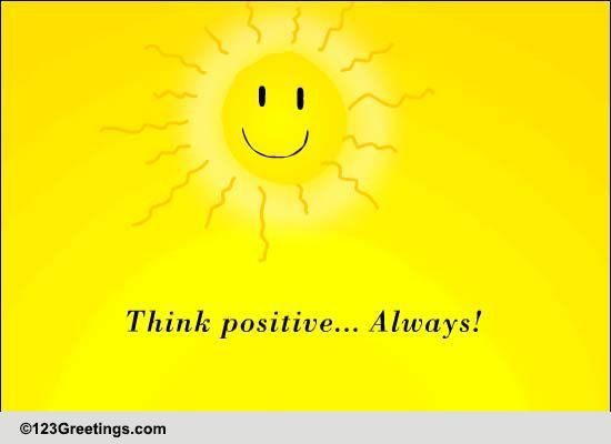 Think Positive... Always! Free Positive Thinking Day ...