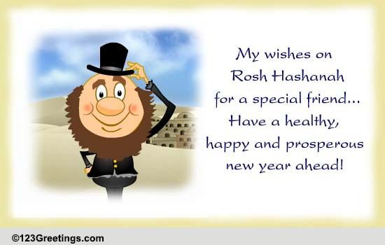 Rosh Hashanah Wishes For Your Friend! Free Friends eCards   123 ...