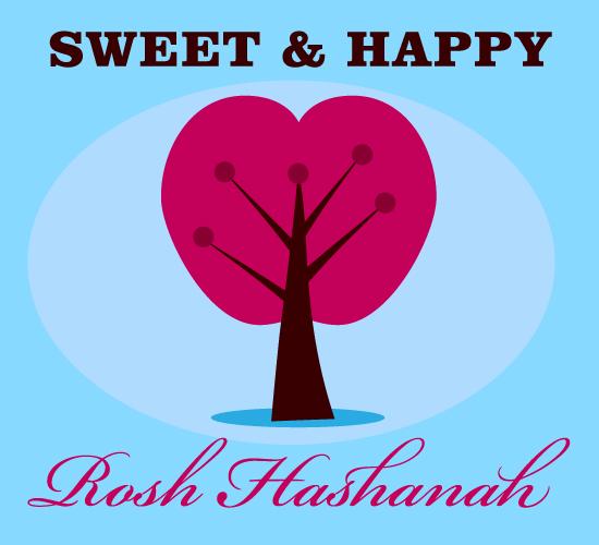 Sweet & Happy Rosh Hashanah.