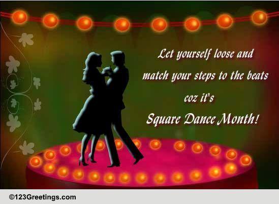 International Square Dance Month! Free Intl. Square Dance ...