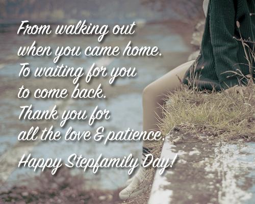 Send Stepfamily Day Ecard