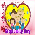 My Stepfamily Day Card.