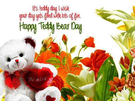 Happy Teddy Bear Day.