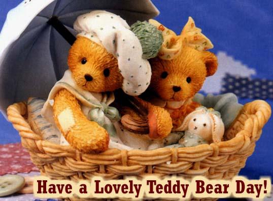 Send Teddy Bear Day Wishes!